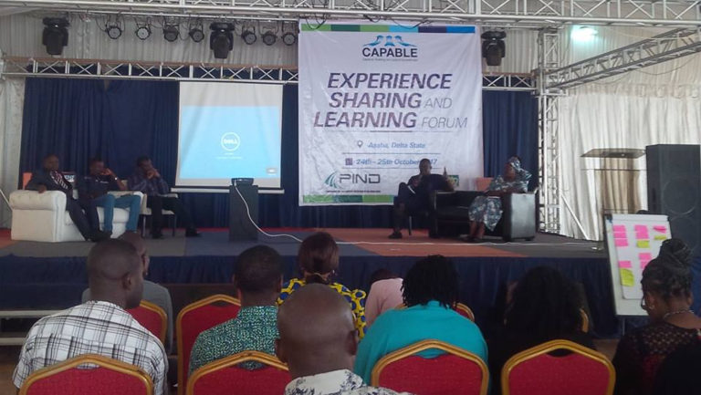 PIND CAPABLE Experience Sharing and Learning Forum (#GetCAPABLE)