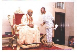 His Majesty and Mr. Henry