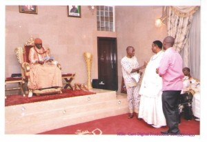 His Majesty, Chief Mr. Henry Erikowa, Mr. Jonathan