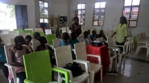 Class Ongoing with Dr Weyinmi